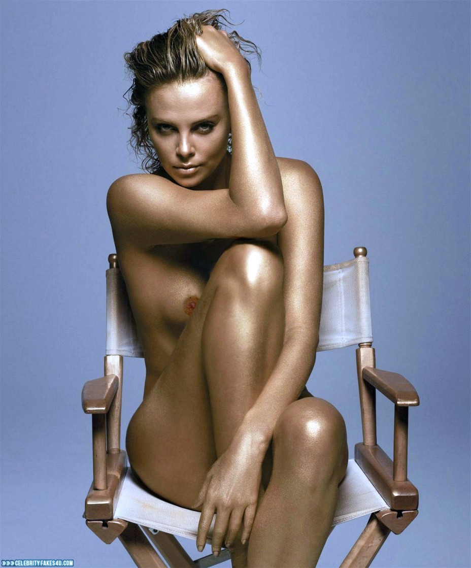 American Actress Charlize Theron Nude