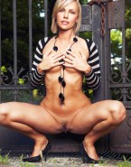 Charlize Theron Squeezing Tits Vagina Legs Spread Nudes 001