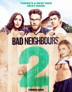 Chloe Grace Moretz Naked Bad Neighbors 2 Movie Poster Fake-001