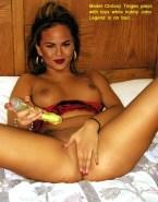 Chrissy Teigen Homemade Masturbates 001