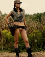 Christian Serratos Pussy Walking Dead 001
