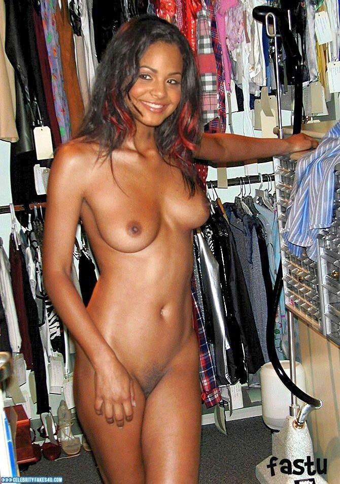 Christina Milian Naked Body Hacked Fake 001  Celebrity -8355