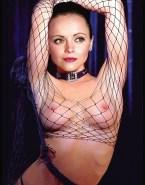 Christina Ricci Fishnet Stockings Xxx 001