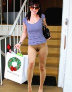 Christina Ricci Legs Without Underwear 001
