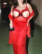 Christine Neubauer Public Lingerie Naked 001