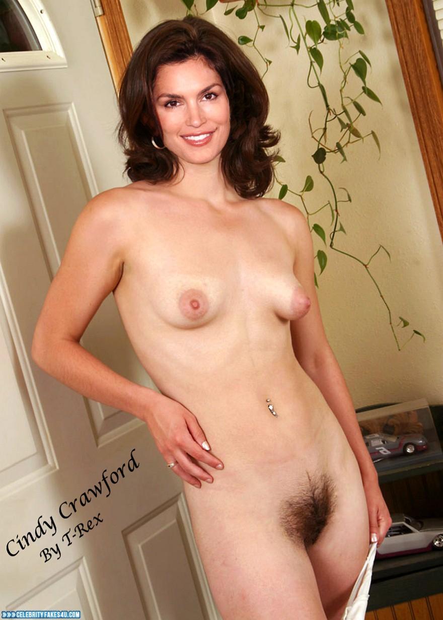 Hairy cindy crawford nude