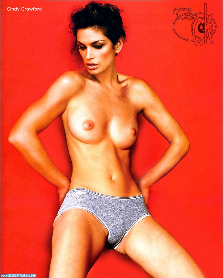 Cindy crawford fake nude pics
