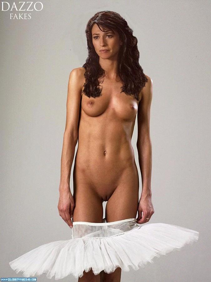 Hot naked girl many guys