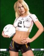 Claudia Schiffer Tits Blonde Nude Fake 001
