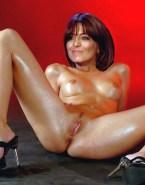 Claudia Winkleman Breasts Vagina Legs Spread Nudes Fake 001