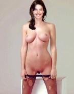 Cobie Smulders Big Tits Fake-008