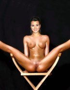 Cote De Pablo Wet Legs Spread Pussy Porn 001