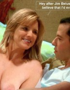 Courtney Thorne Smith Topless Two And A Half Men Fake 001