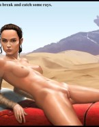 Daisy Ridley Camel Toe Cartoon Nude Fake 001