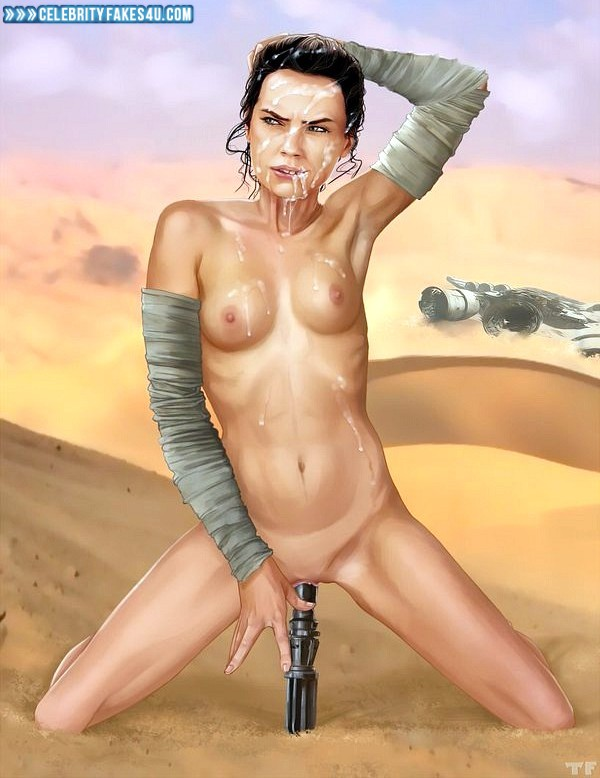 star wars toy in her pussy