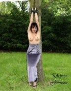 Dakota Johnson Topless Bondage Porn 001