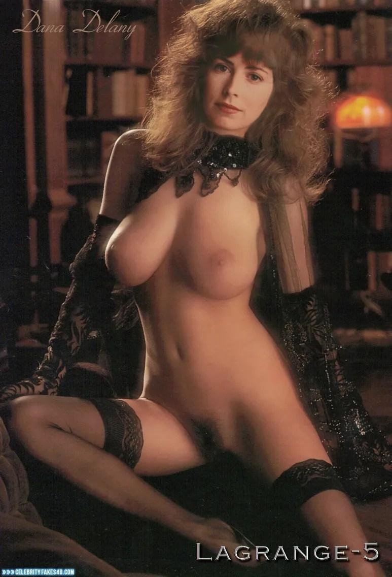Dana Delany Naked Body Nice Tits 001  Celebrity Fakes 4U-8077