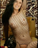 Danica Patrick Pierced Nipples Camel Toe Porn 001