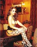 Daniela Ruah Stockings Boobs Exposed 001