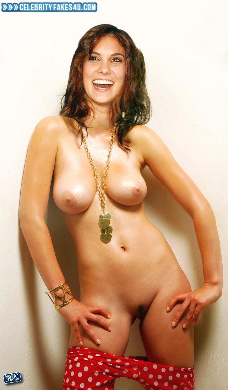 Daniela Ruah Fake, Panties Pulled Down, Topless, Undressing, Porn
