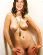 Daniela Ruah Takes Panties Off Topless Porn 001