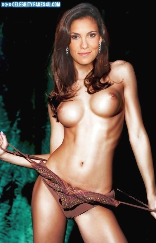 Daniela Ruah Fake, Topless, Undressing, Porn