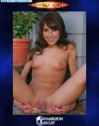 Daniella Monet Tits Spread Pussy Nude Fake 001