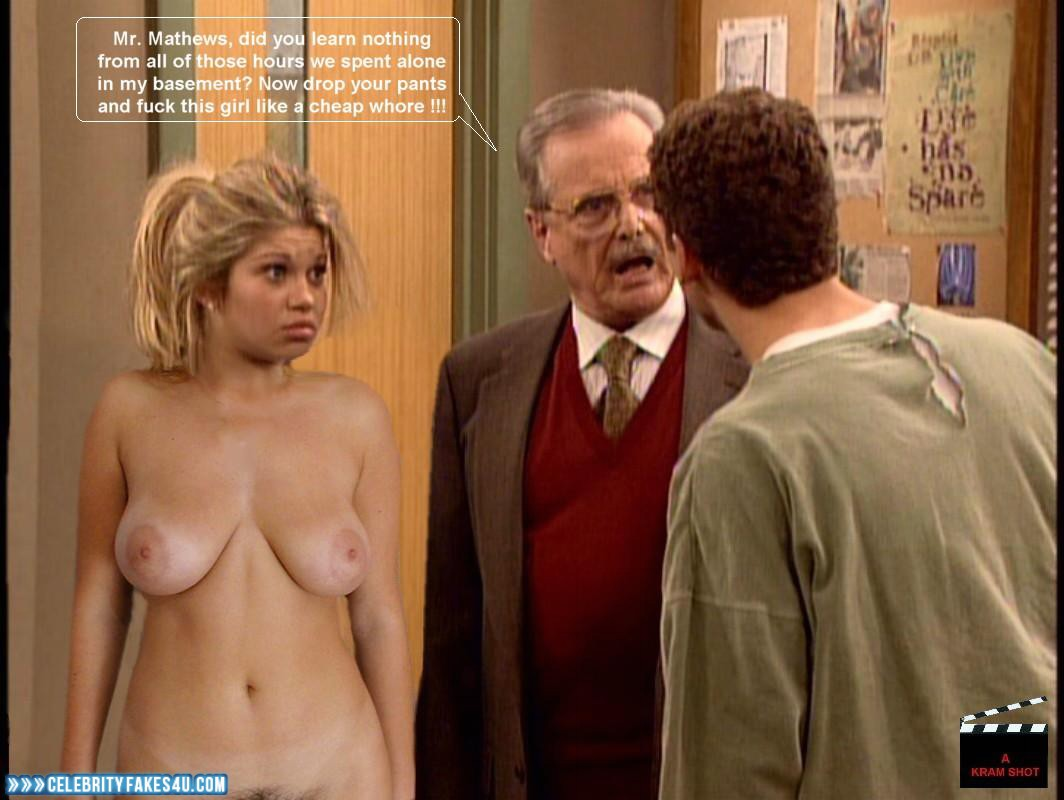 Boy meets world nude