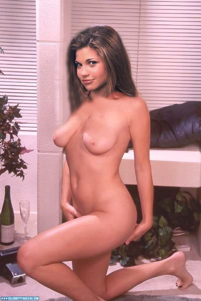 danielle-fishel-naked-with-nylons