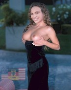 Danielle Fishel Squeezing Tits Nsfw 001