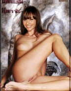 Danielle Harris Tits Vagina Naked Fake 001