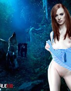 Deborah Ann Woll No Panties True Blood Nsfw 001