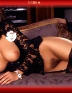 Debra Messing Lingerie Stockings Xxx 001