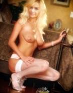 Denise Richards Stockings Tits Exposed Naked 001