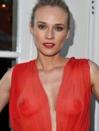 Diane Kruger See-Through Tits Fake