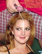 Drew Barrymore Facial Cumshot Sex 001