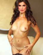 Elisabetta Canalis Hot Flat Belly Shot Fully Nude 001