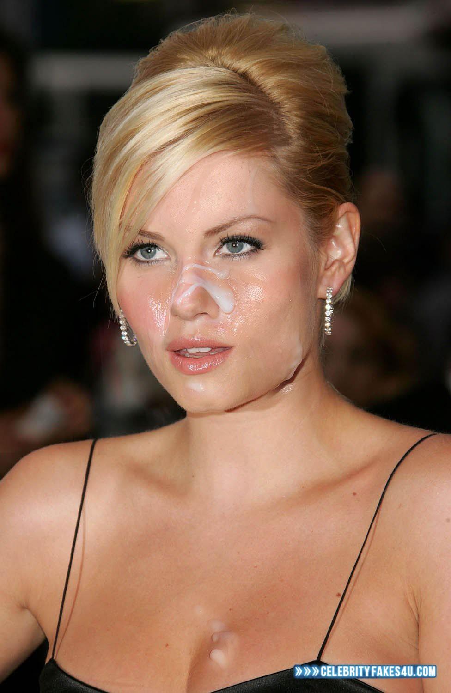 Elisha Cuthbert Cum Facial 002 « Celebrity Fakes 4U