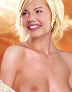 Elisha Cuthbert Tits Exposed Blonde Nsfw 001