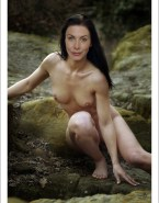 Elizabeth Mitchell Boobs Outdoors Fake 001