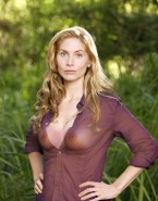 Elizabeth Mitchell See Thru Lost (tv Show) Naked Fake 001