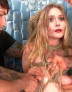 Elizabeth Olsen Boobs Squeezed Nipple Torture Nsfw Fake 001