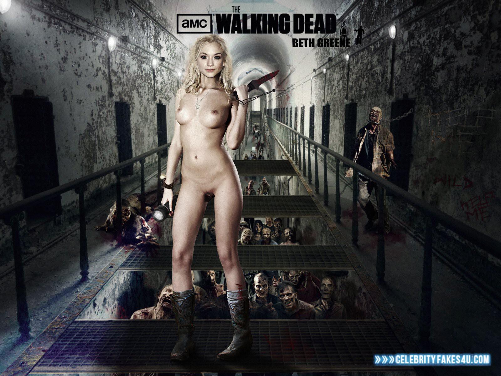 Emily Kinney Walking Dead Porn 001 Â« Celebrity Fakes 4U