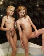 Emily Osment Shower Hannah Montana Nude 001
