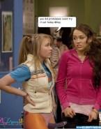Emily Osment Strap On Lesbians Hannah Montana Porn 001
