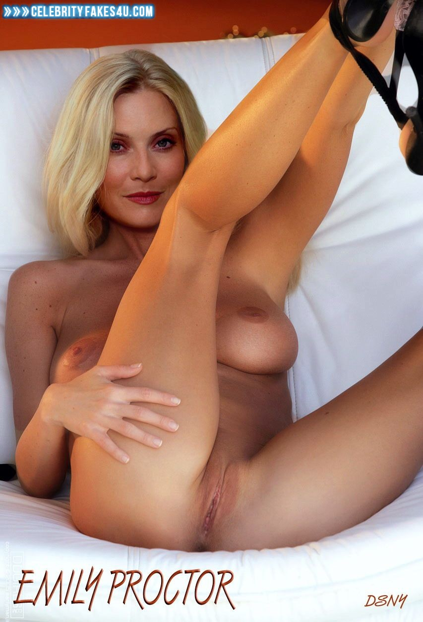 Against. emily procter nude vagina think