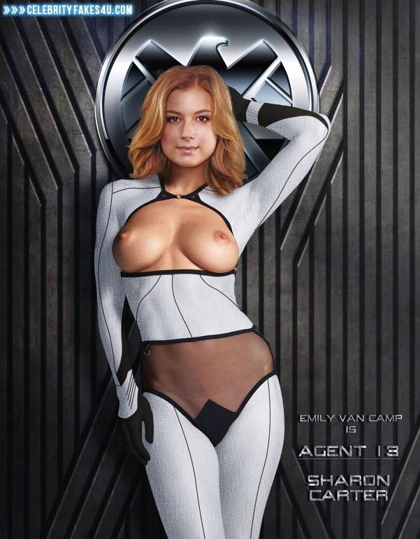 Emily Vancamp Fake, Marvel Universe, Nude, Tits, Porn