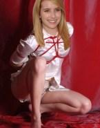 Emma Roberts Blonde Bondage Porn Fake 001