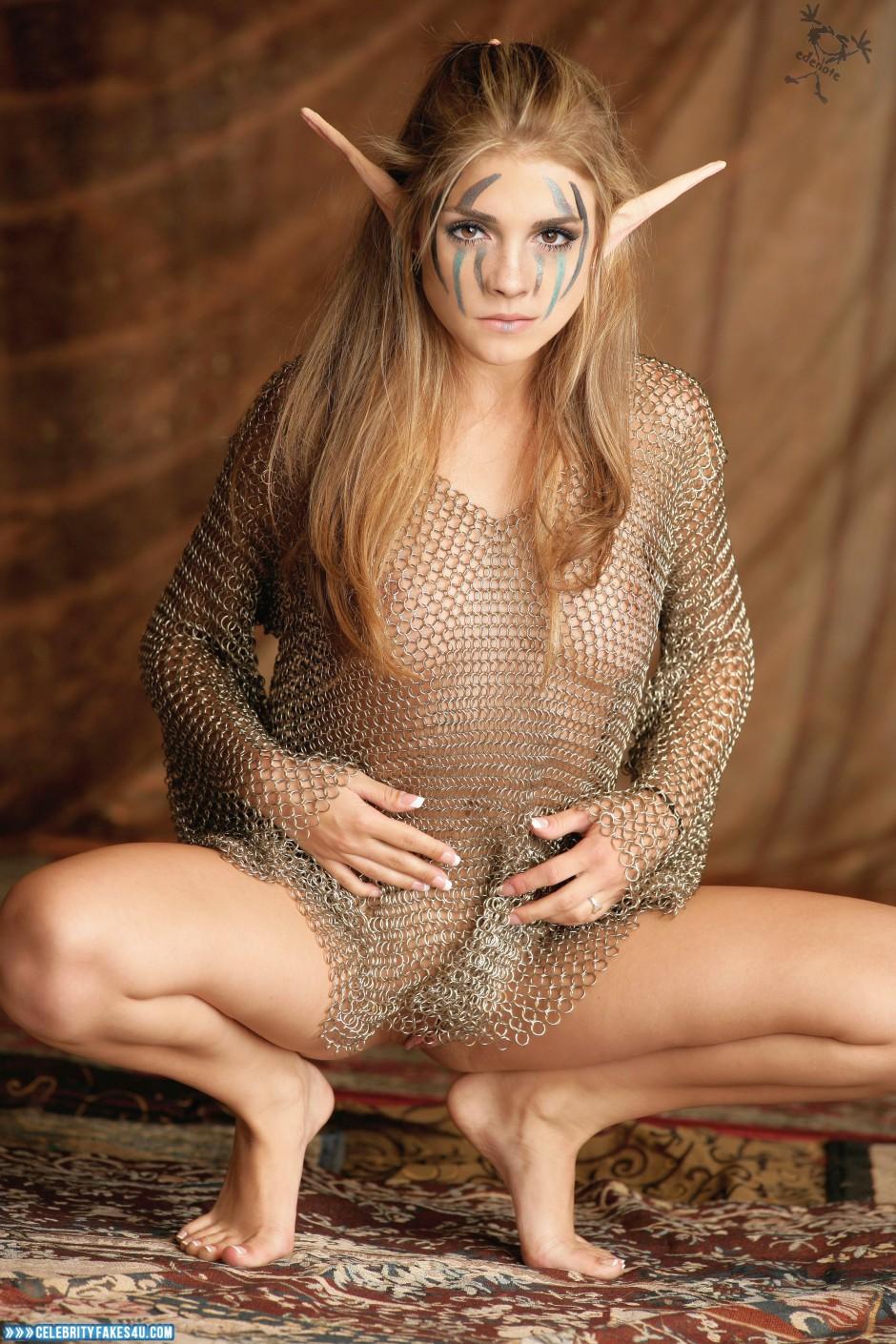 Emma Watson Fake, Legs Spread, Nude, Pussy, Tits, Porn
