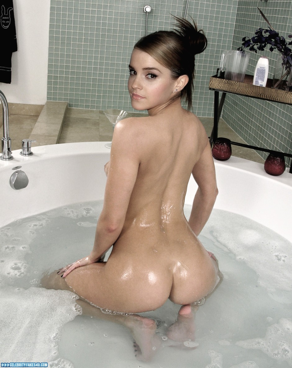 Emma watson in the shower naked sex black pussy